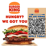 Burger King advertisement