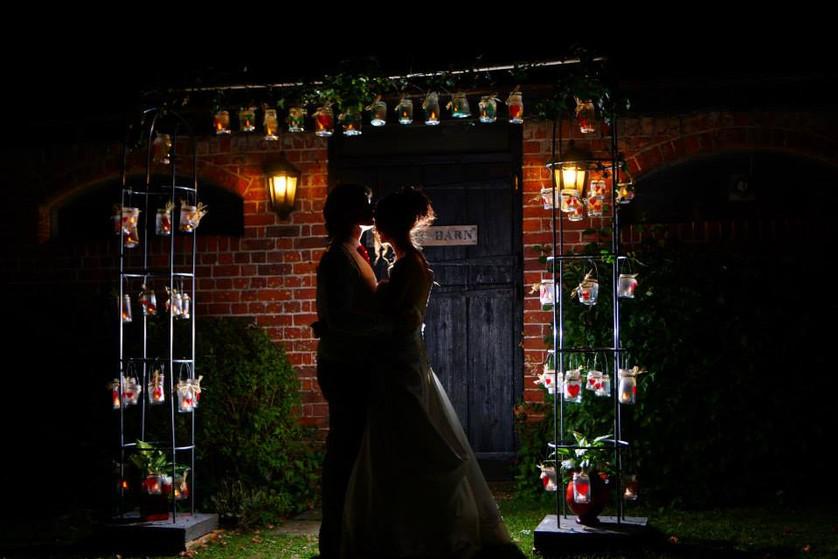 Twilight wedding