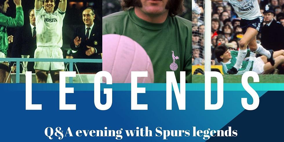 Spurs Legends Q&A Evening