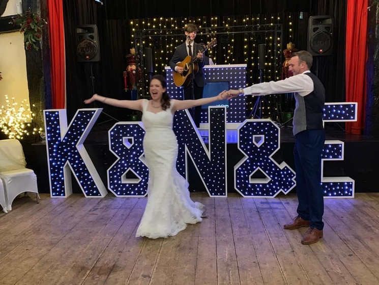 First dance at Little Easton Manor