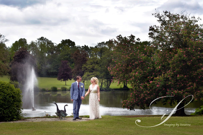 Married couple by Great Lake at Little E