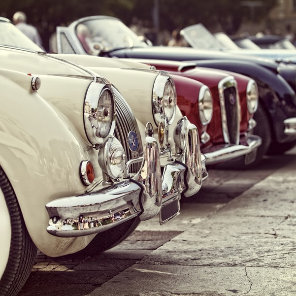 A Meeting of Classic and Interesting Cars