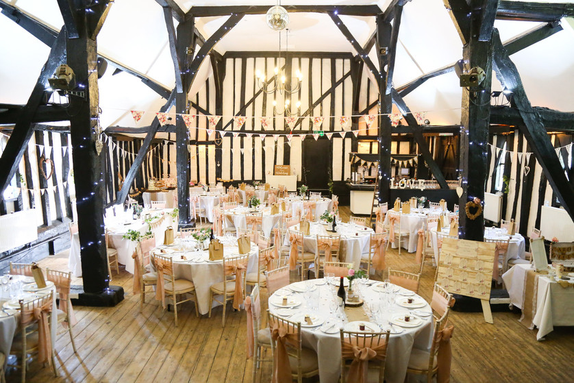 Country wedding in the Barn Theatre