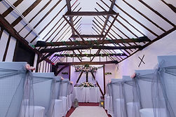 Wedding ceremony in Turkey Barn