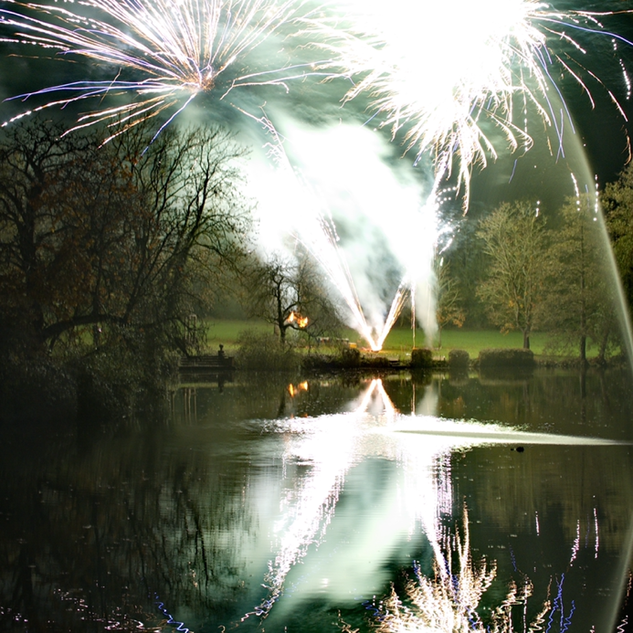 Fireworks at The Manor