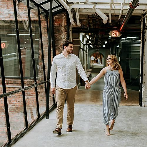 Trent + Andrea Engagement