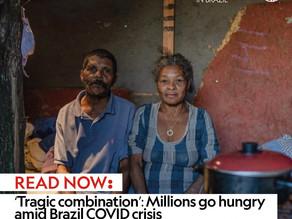 'Tragic combination': Millions go hungry amid Brazil COVID crisis