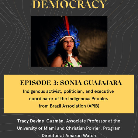 Dialogues for Democracy with Sonia Guajajara