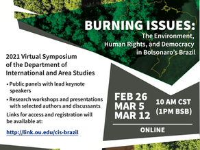 Burning Issues: The Environment, Human Rights, and Democracy in Bolsonaro's Brazil