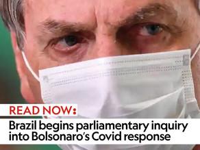 Brazil begins parliamentary inquiry into Bolsonaro's Covid response