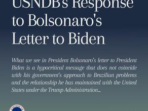 USNDB Response to Bolsonaro's Letter to Biden