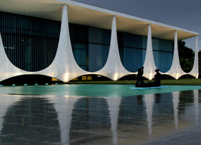 Brazil's modernist palaces could soon be disfigured by anti-drone systems