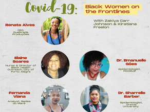Sisters Speak Covid-19: Black Women on the Frontlines