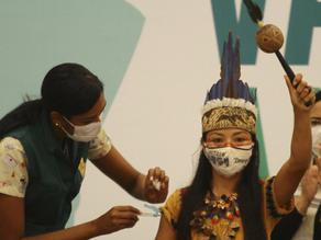 Oxygen-Starved City in Brazil's Amazon Starts Immunization