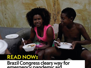 Brazil Congress clears way for emergency pandemic aid