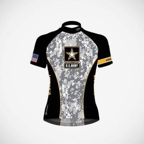 Women's Army Cycling Jersey
