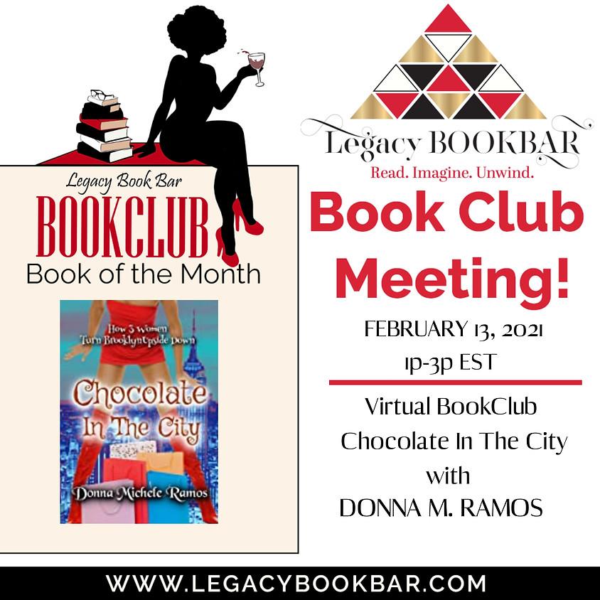 Legacy Bookbar Book Club Presents: Chocolate in the City!