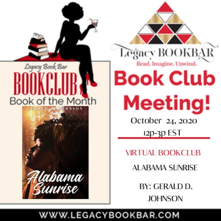 Legacy BookBar October Online Book Club Meeting