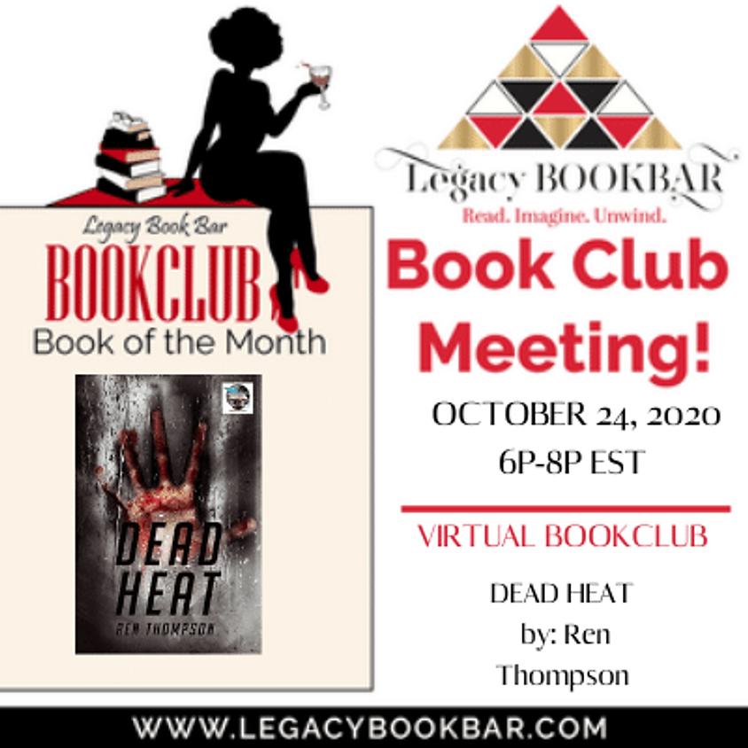 Legacy BookBar October Online BookClub- Dead Heat