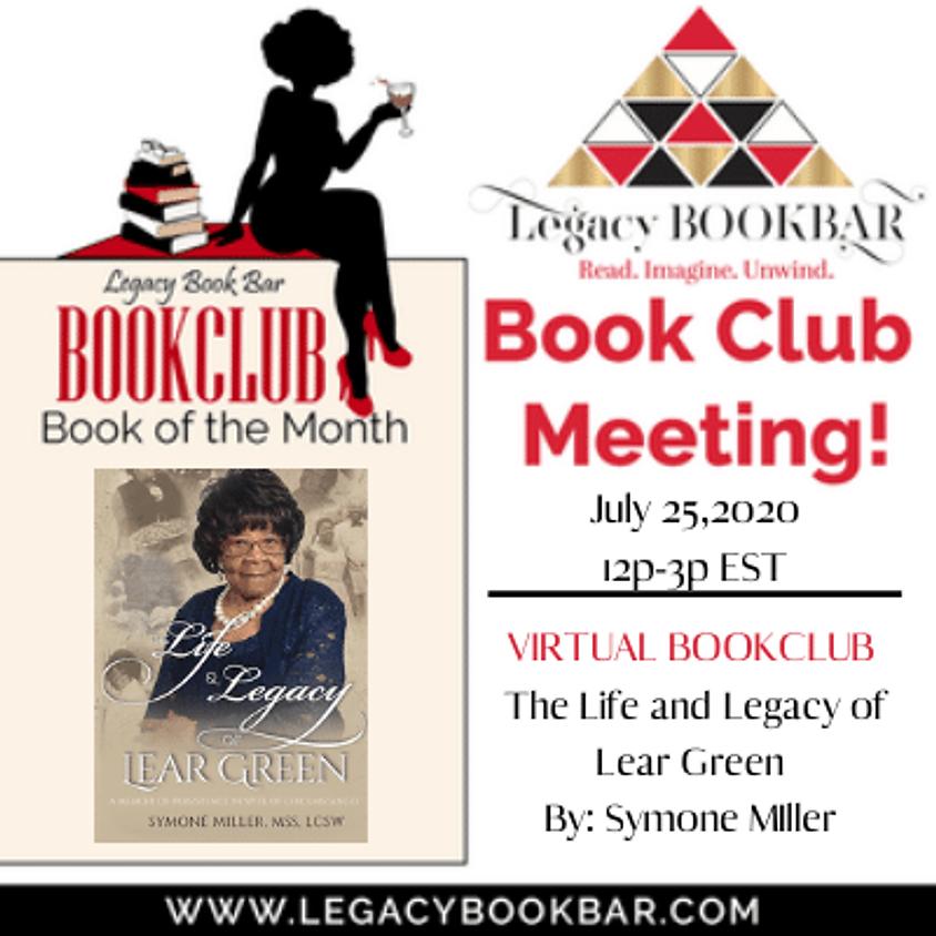 Legacy BookBar Online Book Club Meeting