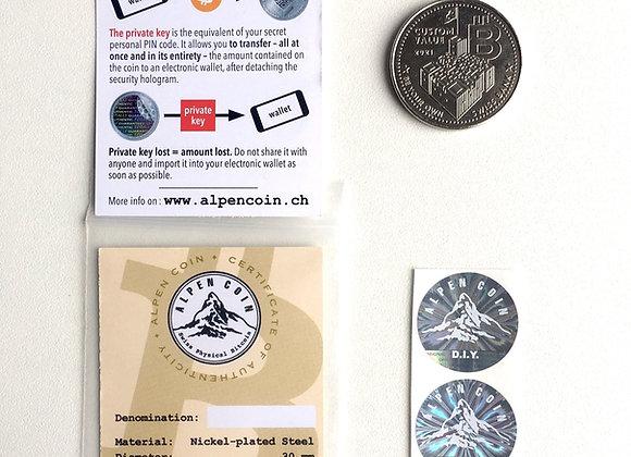 Alpen Coin Custom 2021 D.I.Y. Kit