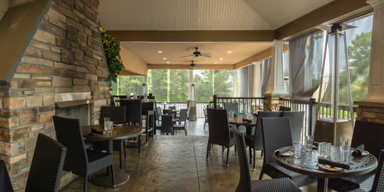 heated outdoor dining