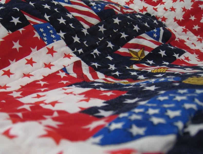 Patriotic Quilt - detail