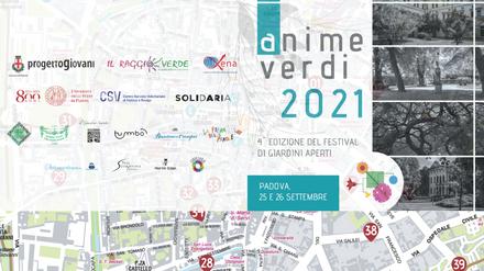 Una festa di paesaggio, arte e bellezza nei giardini di Padova con Anime Verdi, il 25 e 26 settembre