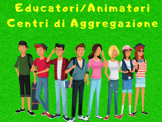 Cercasi Educatori/Animatori