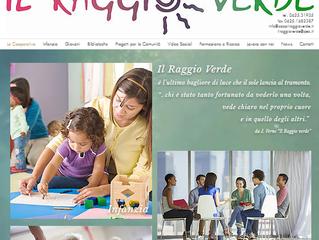 On line il nuovo sito de Il Raggio Verde