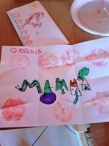 il biglietto speciale fatto da Giorgia di Masi (Pd) - 6 anni