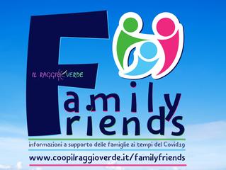 Family Friends: informazioni formato famiglia