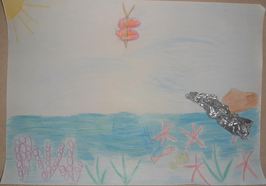 il disegno di Gaia di Stienta (Ro) - 5 anni