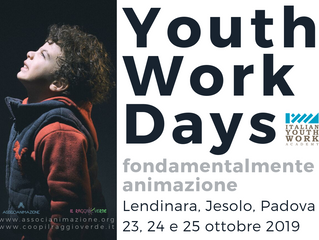 Youth Work Days 2019 > il programma è online