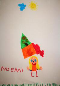 Il disegno di Noemi di Villadose (Ro) - 5 anni