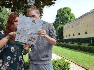3000 braccialetti verdi per le vie e i giardini di Padova