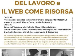 Sarà presentata a Castagnaro la serie web Idee in Video per il Lavoro