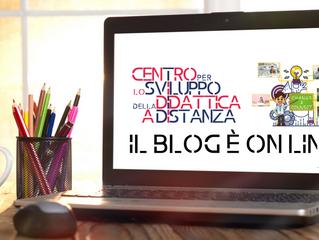 E' on line il blog del Centro per lo Sviluppo della Didattica a Distanza