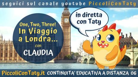 One, Two, Three! In Viaggio a Londra con Claudia