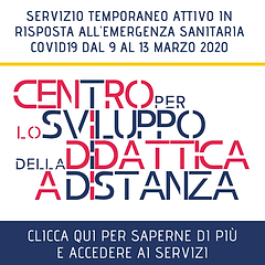 link per pagina web DIDATTICA A DISTANZA