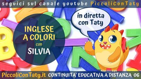 Inglese a colori! con Silvia