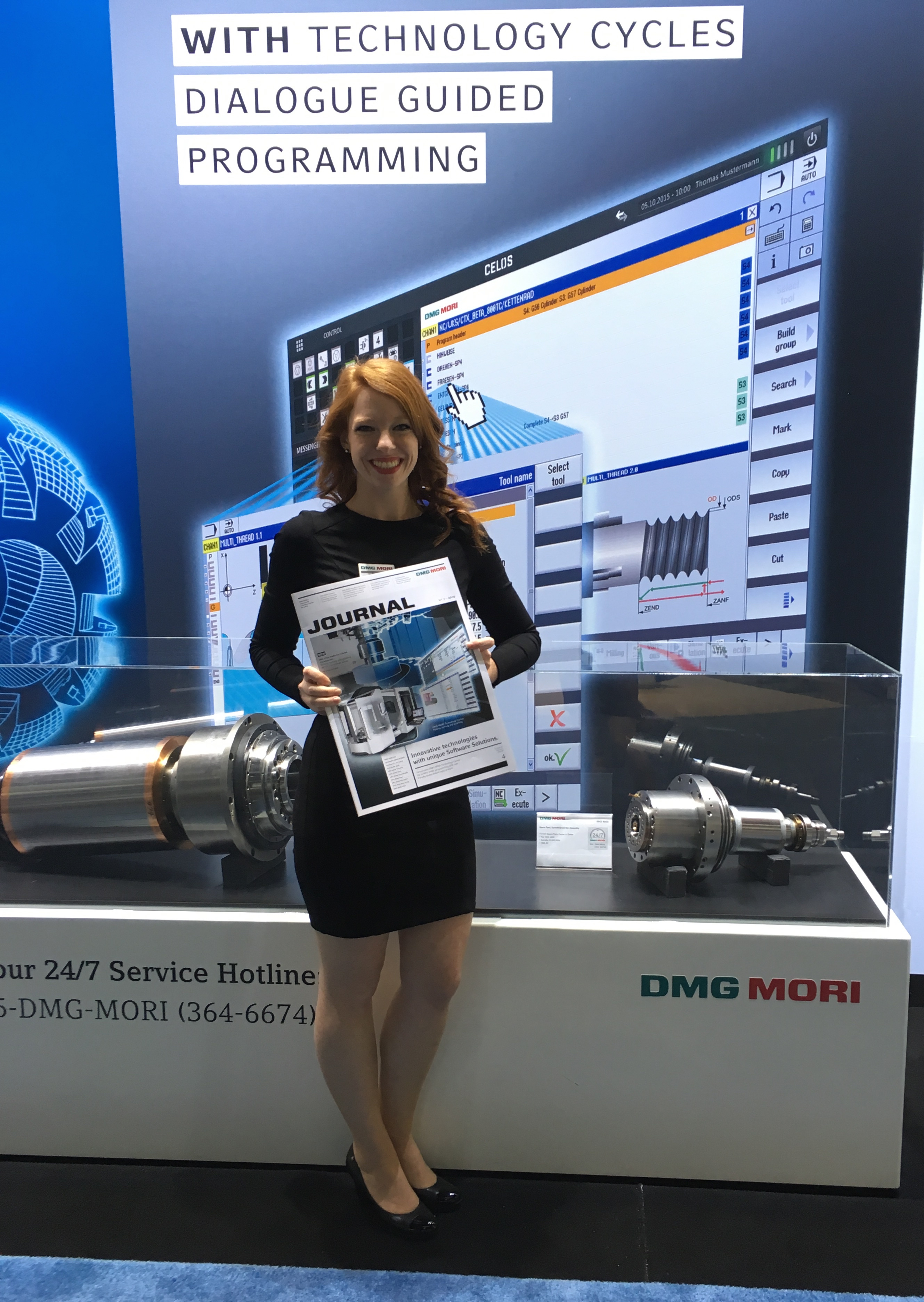 Booth Hostesss IMTS 2016