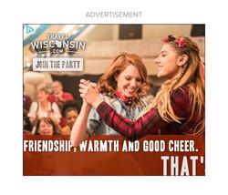 Wisconsin Tourism Web Ad
