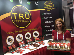 Booth hostess: Sweets & Snacks Expo
