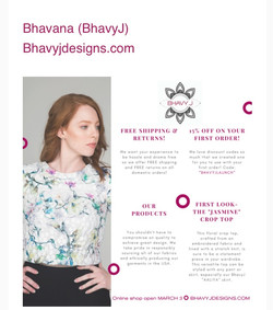 Ad Campaign for BhavyJDesigns