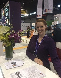 RSNA 2017 Booth Hostess for Olea Med