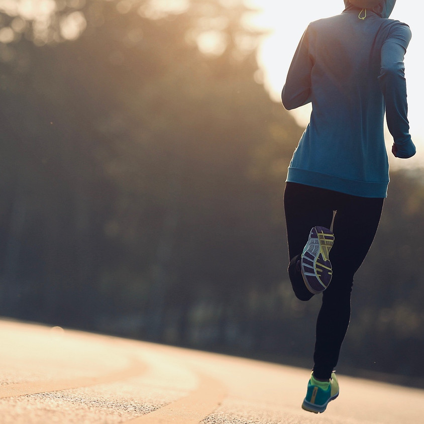 Sweat + Flow 5km + 10Km Run Program - 12:15pm Coaching Call Option