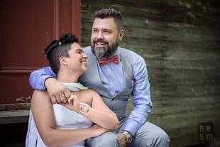 C'est beau la vie!  Mariage Éric & Mélanie,Station touristiqueDuchesnay© niesim
