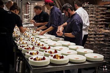 CROIX ROUGE 2017 en cuisine Le Château Frontenac