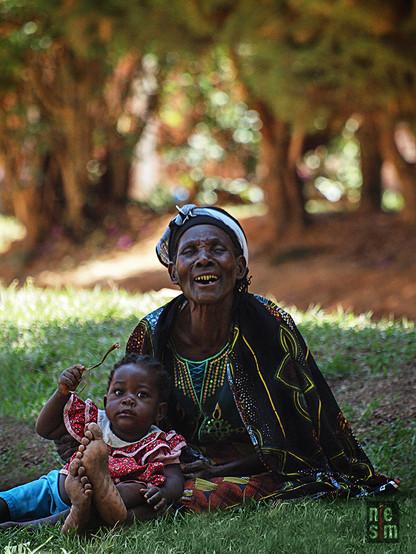 Un sourire d'Afrique © niesim